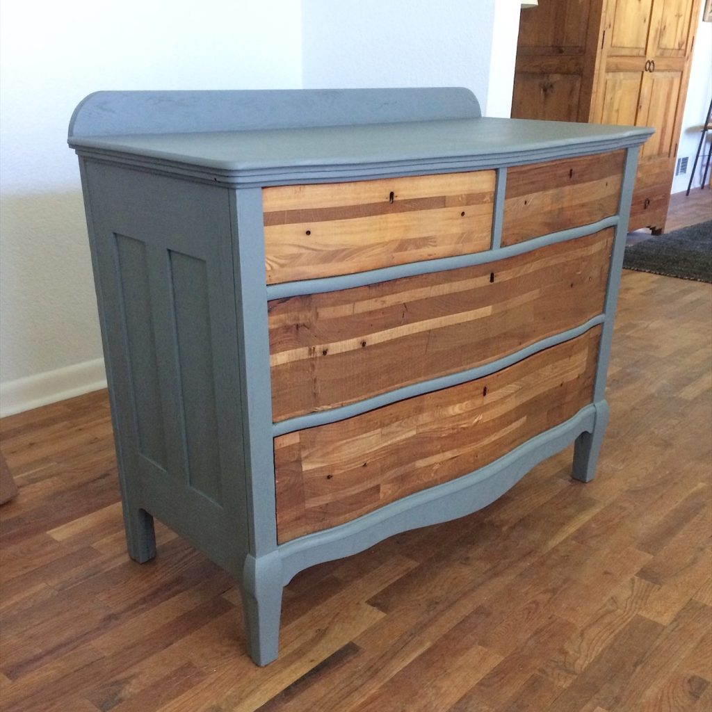Em & Wit Design-Seattle couple refinishing furniture